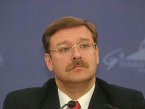Косачев: Россия предотвратила втягивание в войну всех народов Кавказа