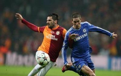 Галатасарай и Челси разошлись миром в первом матче 1/8 финала Лиги Чемпионов