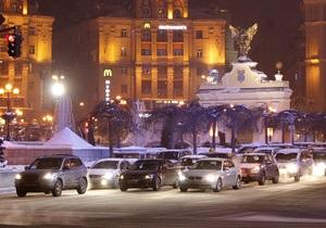 ГАИ просит водителей и пешеходов быть осторожными во время праздников