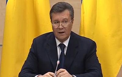Янукович: Никто меня не сверг, я буду бороться за будущее Украины