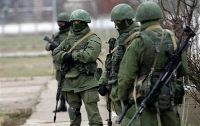 Российские военные заблокировали военную часть в Бахчисарае - СМИ