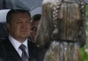 Судья по делу об отрицании Януковичем Голодомора как геноцида взяла самоотвод