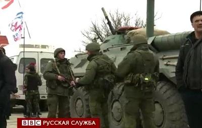 Видеосюжет об осаде украинской базы в Феодосии