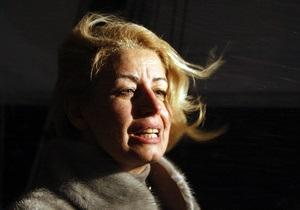 Герман опровергла информацию об избиении ее Януковичем
