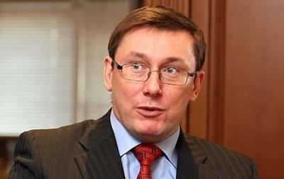 Луценко не собирается в президенты, но хочет пройти в парламент