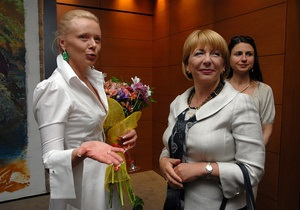 Катерина Ющенко посетила выставку современного искусства