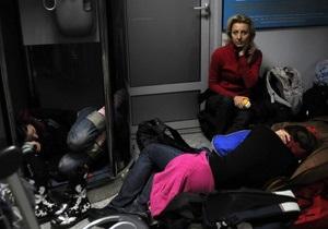 Ситуация в аэропорту Борисполь стабилизируется. Милиция опровергла сообщения о беспорядках