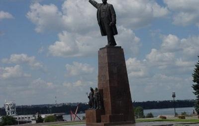 В Запорожье решили не сносить памятник Ленину