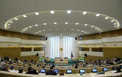 Совет Федераций РФ выступил за мониторинг Белоруссией  референдума в Крыму
