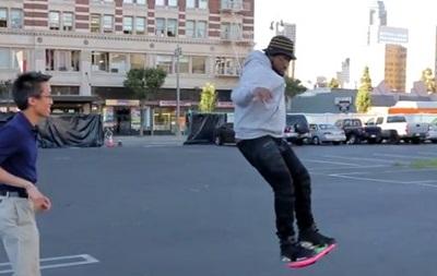 Назад в будущее. В США представили  летающий скейтборд