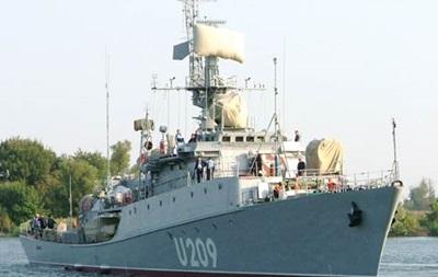 Российский спецназ готовится захватить корвет Тернополь - Тягнибок