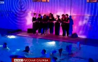 Подводная музыка: концерт в бассейне