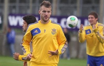 Ярмоленко стал лучшим игроком матча Украина – США