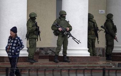 В Севастополе неизвестные заблокировали вертолет с журналистами