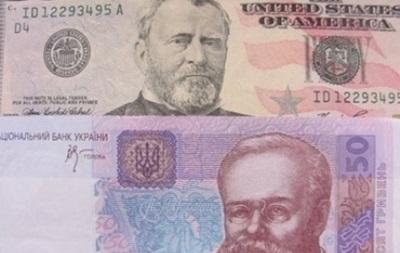 Гривна на межбанке выросла до 8,9 за доллар