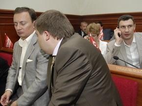 Оппозиционные депутаты Киевсовета отменили повышение тарифов на ЖКХ