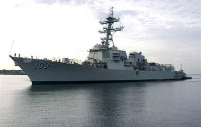 Американский эсминец Тракстон зашел в румынский порт
