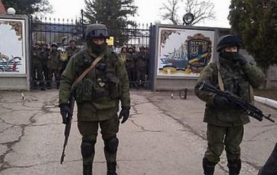 В Бахчисарае похищенный командир сдал военную часть захватчикам