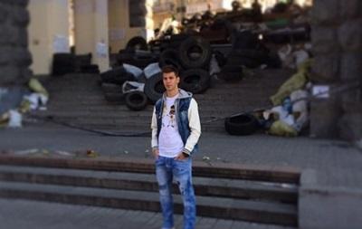 Австрийский легионер Динамо посетил Майдан