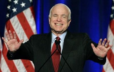 Делегация сенаторов США во главе с Маккейном прибудет в Киев 14 марта