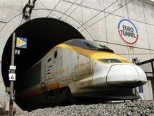 В тоннеле под Ла-Маншем загорелся поезд