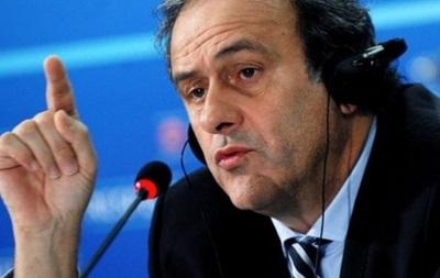 Платини не видит причин дисквалификации сборной России с ЧМ-2014