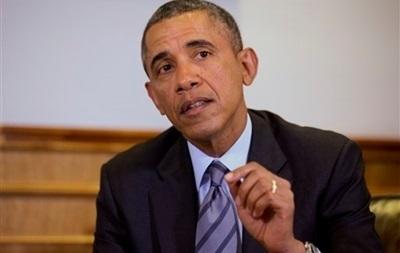 Обама на встрече с Яценюком заявил о неприемлемости крымского референдума