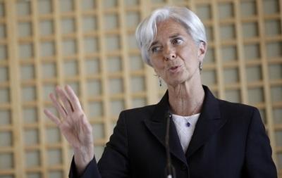МВФ заинтересован помочь Украине – Лагард