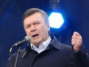 Янукович угрожает акциями протеста