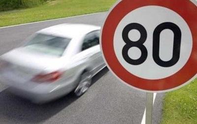Скоростной лимит на улицах Киева повысят до 80 км/час