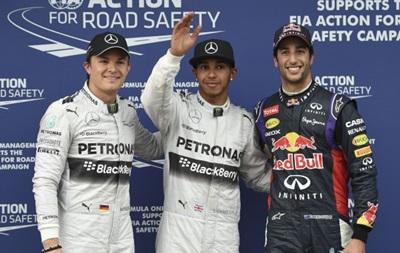 Формула-1: Хэмилтон выиграл первую квалификацию сезона
