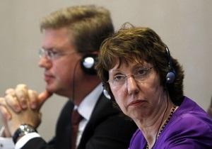 Евросоюз разочарован приговором Луценко