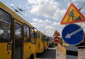 В Киеве на проспекте Победы и бульваре Леси Украинки ограничат движение транспорта
