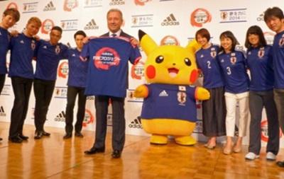 Самый знаменитый покемон станет официальным талисманом Японии на ЧМ-2014