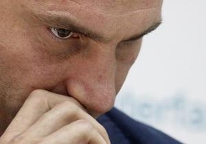бокс - Кличко не исключает, что его могут лишить мандата