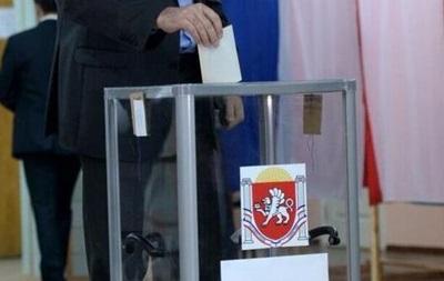 Главы восьми российских региональных избиркомов наблюдают за референдумом в Крыму