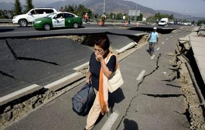 В Чили из-за угрозы цунами эвакуируют более 100 тысяч человек