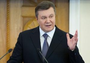 Янукович предлагает возродить в Украине Кирилло-Мефодиевское братство