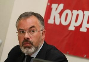 Мировой конгресс украинцев просит Януковича уволить Табачника