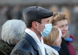 В 5 областях Украины вновь превышен эпидпорог заболеваемости гриппом и ОРВИ