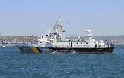 Украинские пограничные корабли переведены в новые места дислокации