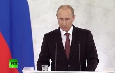 Москва не претендует на юго-восток Украины - Путин