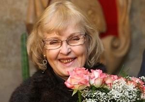 Ада Роговцева: Мне трижды предлагали должность министра культуры Украины
