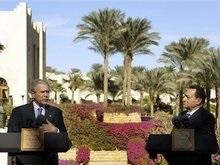 Буш завершил ближневосточное турне на египетском курорте
