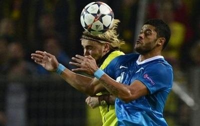 Лига чемпионов: Зенит обыграл, но не смог пройти Боруссию