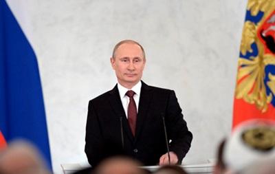 В России рекордно вырос рейтинг Путина