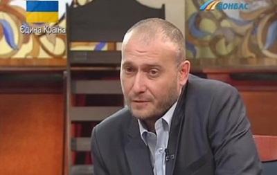 Ярош дал интервью телеканалу Донбасс