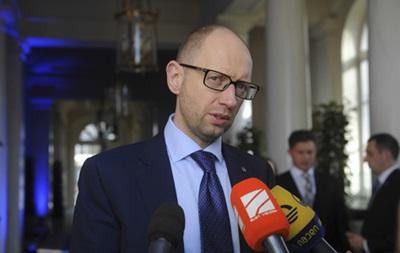 Яценюк: Украина подпишет экономическую часть ассоциации с ЕС после 25 мая