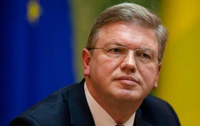 Фюле: Подписание соглашения с ЕС - это начало долгого совместного путешествия