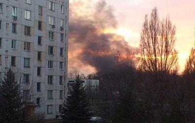 В результате пожара в Кривом Роге повреждены пять танков